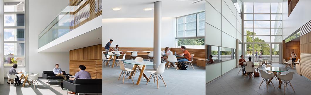 Interior spaces at Princeton Neuroscience Institute